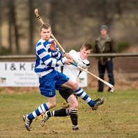 Lovat v Newtonmore (Orion Premiership) - 9th March 2013 - First half only.