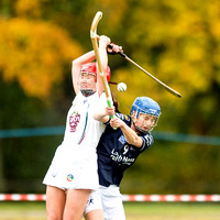 Scotland v County Kildare Shinty Camogie Challenge Match - 24th Oct. 2015 (First Half Only).