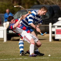 Newtonmore v Kingussie (Co-operative MacTavish Cup Quarter Final) - 20th April 2013